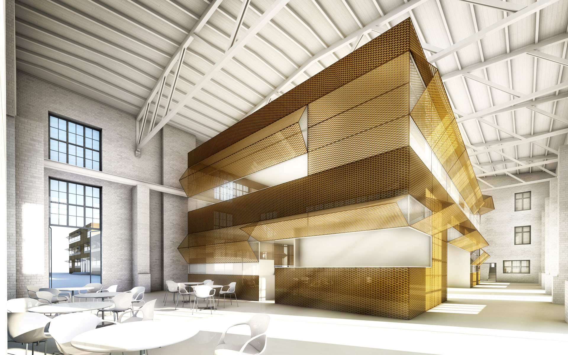 Brandenburg Industrial Renovation Competition Zarzar