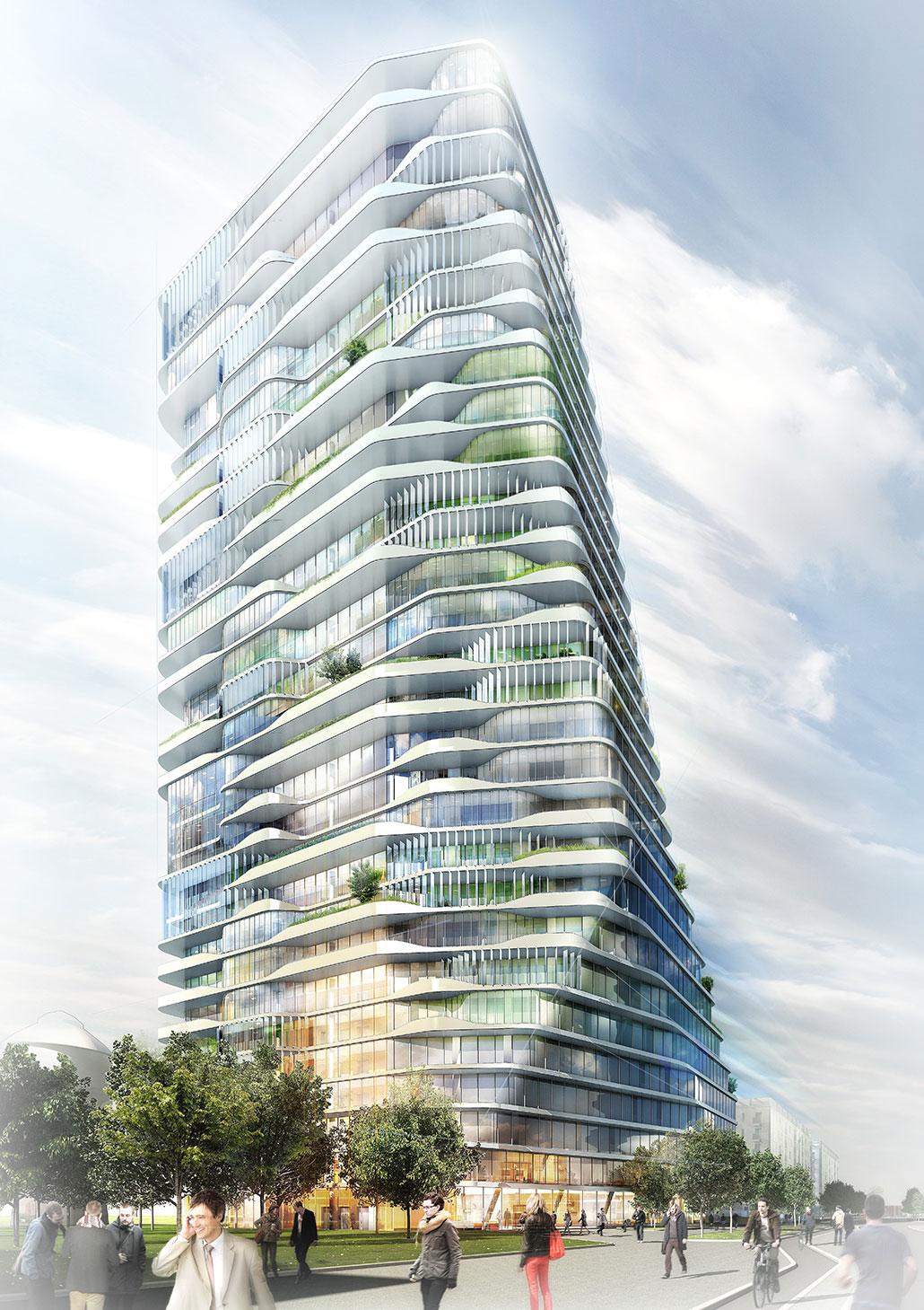 Porsche Design – Frankfurt Tower